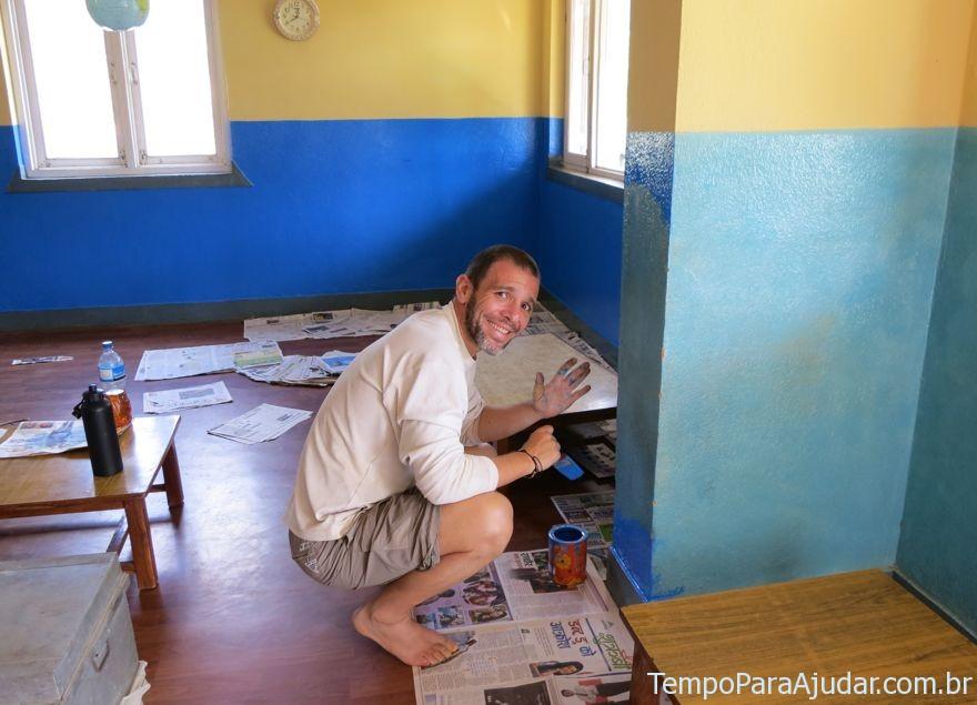 Voluntariado no Nepal