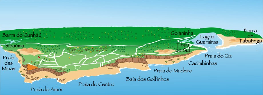 Mapa de Pipa