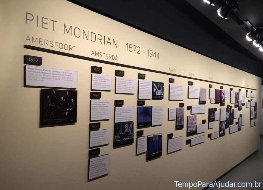 Fases da vida de Piet Mondrian