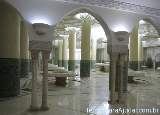 Sala de ablução (purificação)