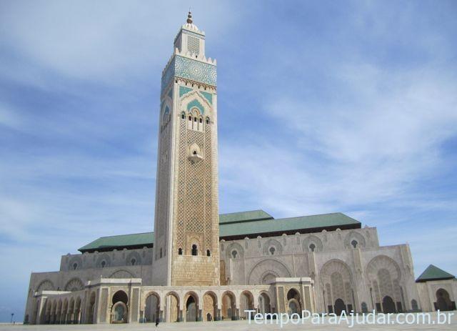 Mesquita Hassan II em Casablanca, Marrocos