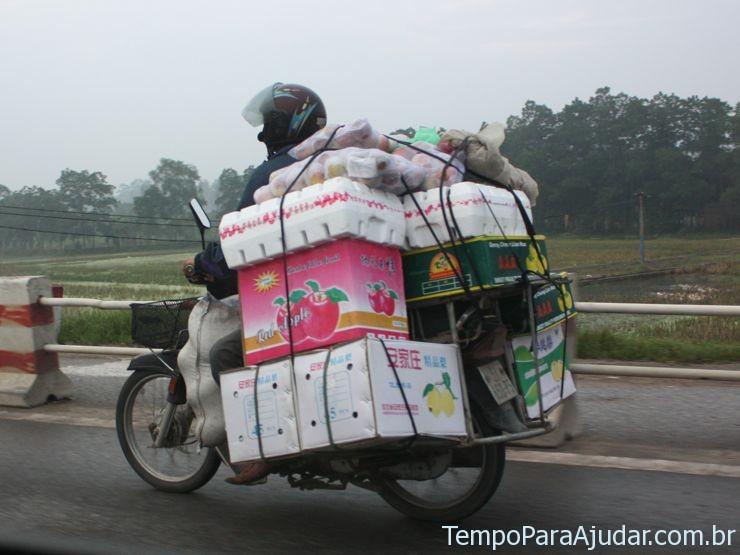 Transporte em estradas