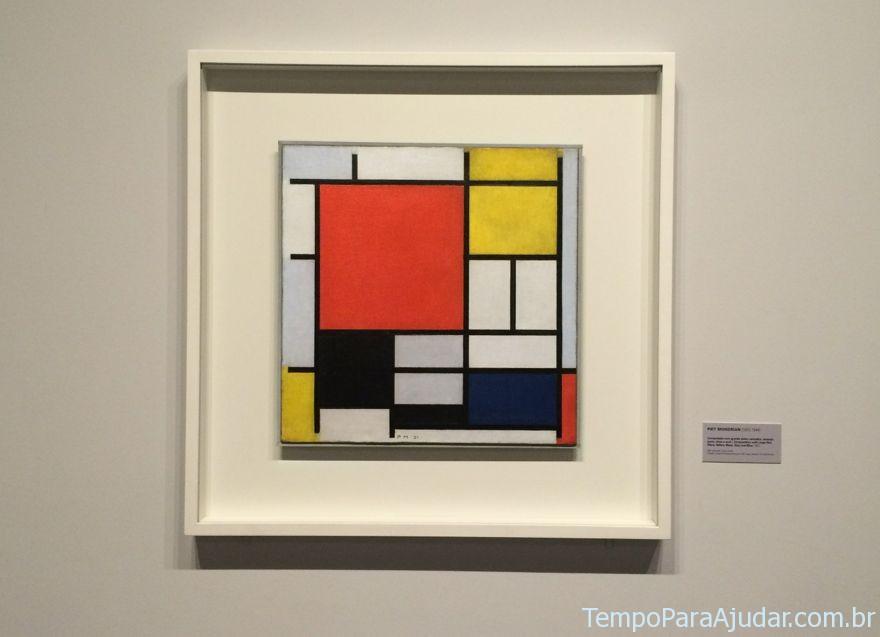 Quadro de Piet Mondrian