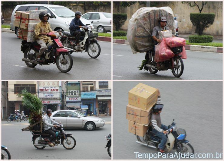 Motos em Ho Chi Minh