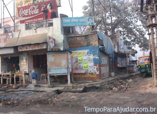 Rua na Índia
