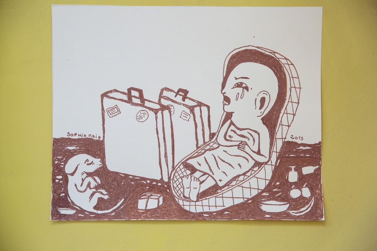 Ilustração de Sophia Maia