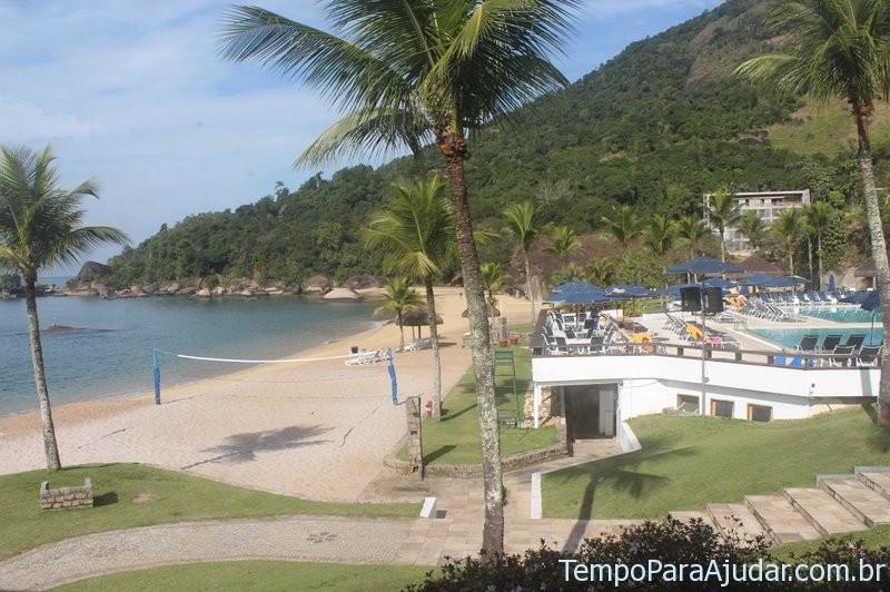 Praia e piscina do Club Med Rio das Pedras