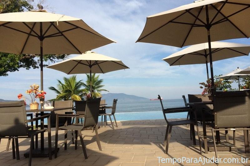 Piscina calma no Club Med Rio das Pedras