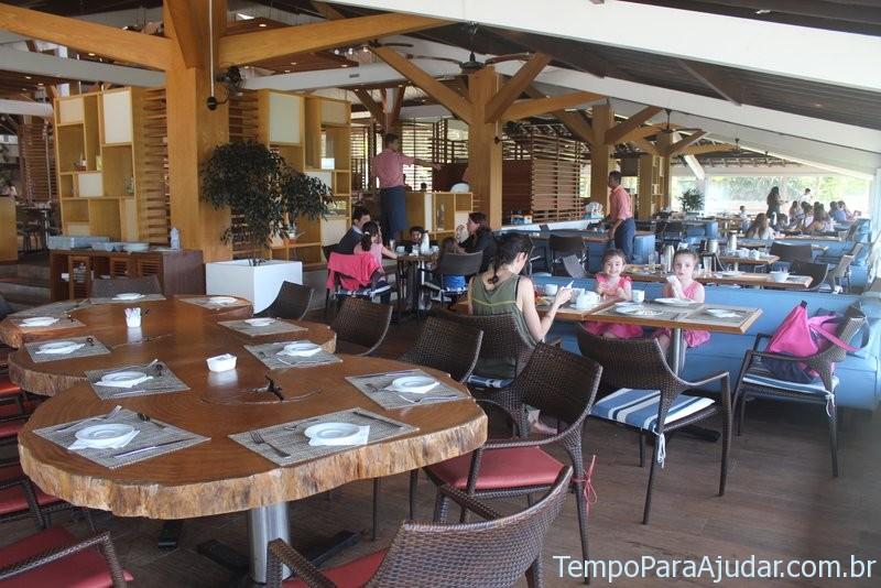 Restaurante principal do Club Med Rio das Pedras