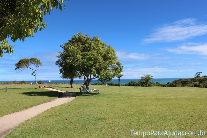 Gramado do resort Club Med Trancoso