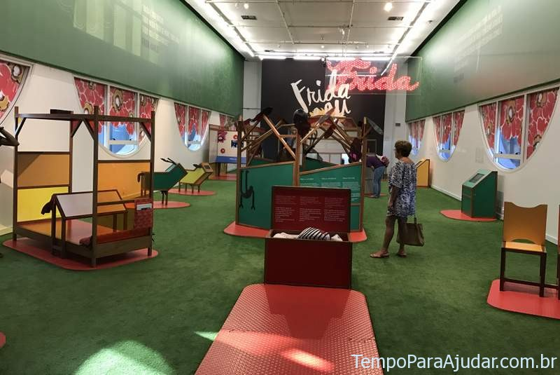 """Exposição """"Frida e eu"""" para crianças em São Paulo"""
