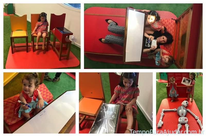 """Aprendendo sobre a dor na Exposição """"Frida e eu"""" para crianças em São Paulo"""