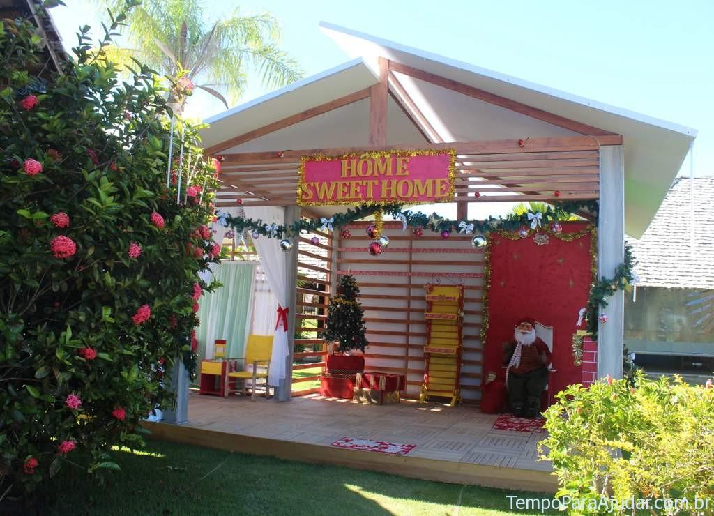 Casa do Papai Noel - Natal Club Med Trancoso