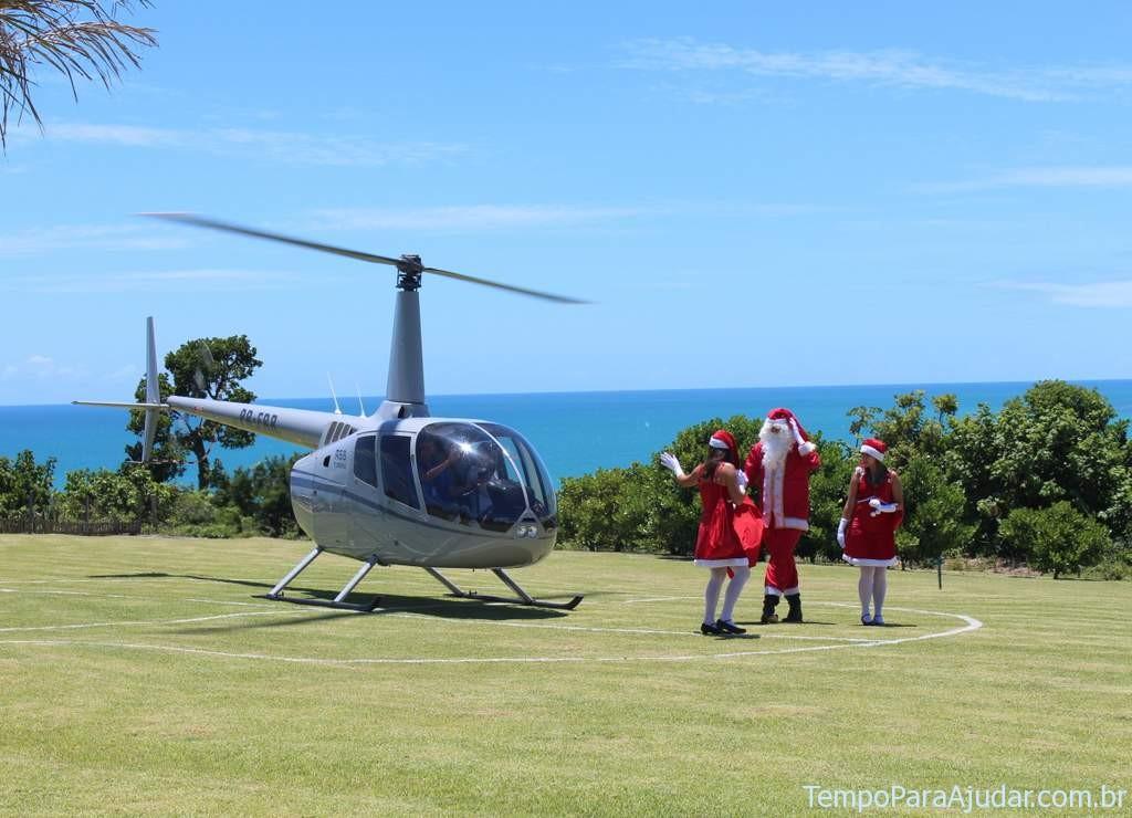 Helicóptero Natal Club Med Trancoso