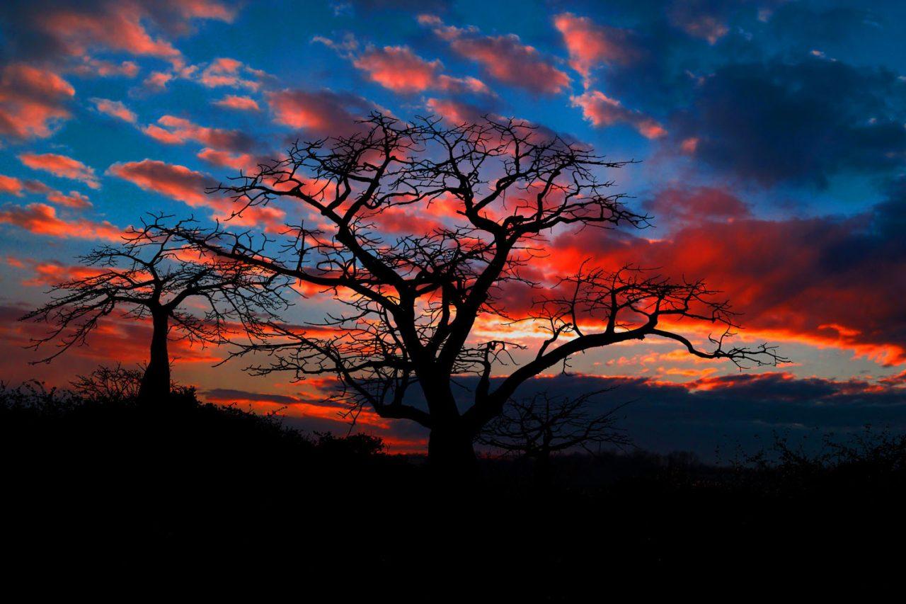 Angola-Entardecer-Vermelho