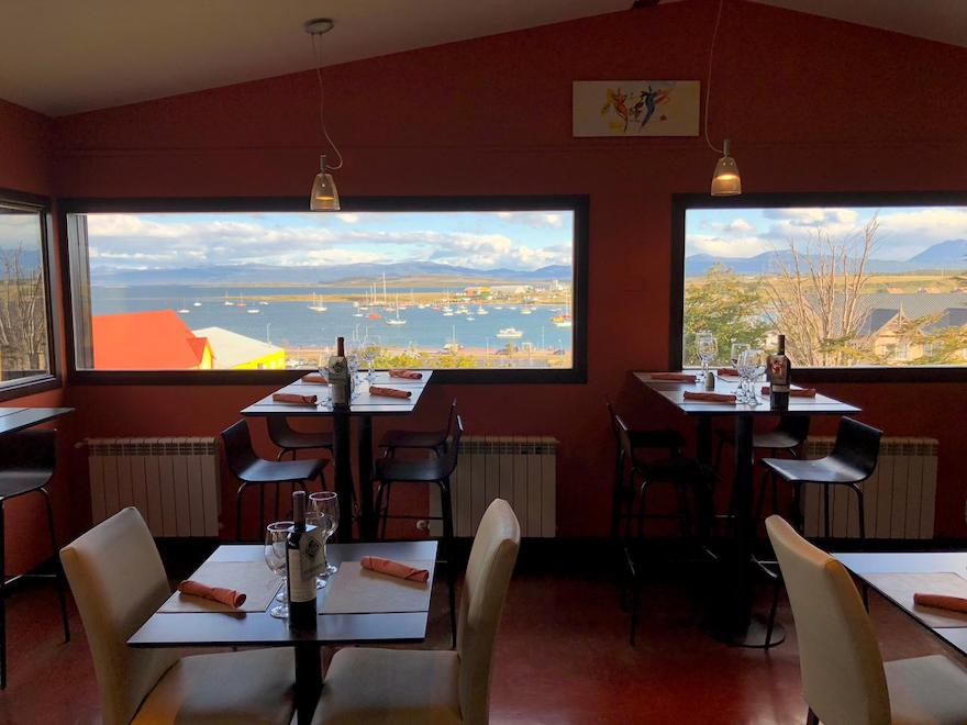 Restaurante indicado em Ushuaia