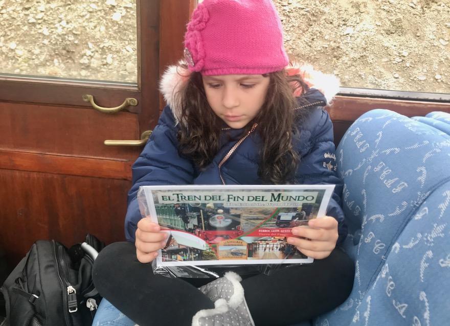 Passeio pelo trem do fim do mundo em Ushuaia
