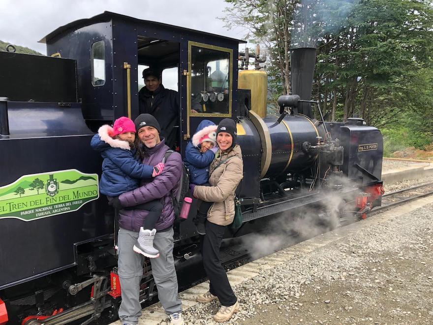 Passeio com crianças em Ushuaia
