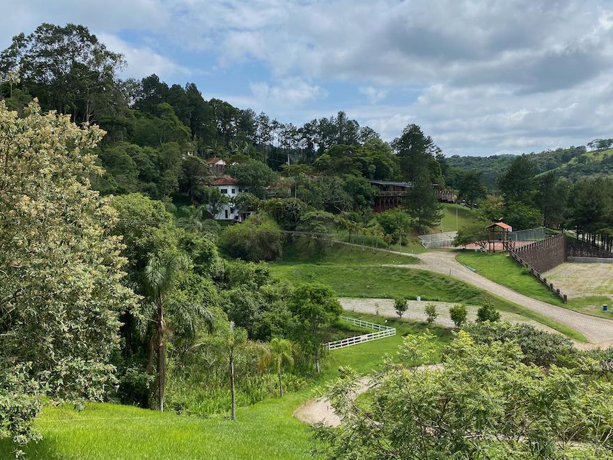 Vista do Hotel Estância Atibainha