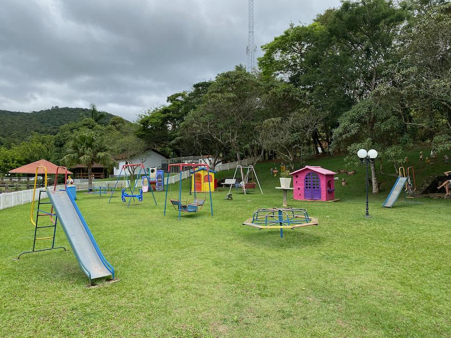 Estação criança: playground do hotel